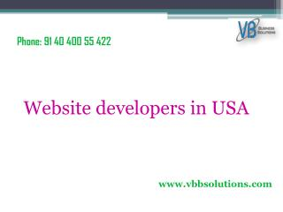 Website developers in USA