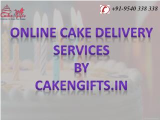Online cake delivery services by CakenGifts.in