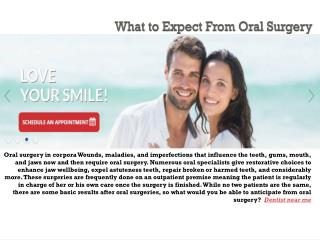 What to Expect From Oral Surgery
