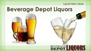 Top Leading Best Liquor Store in Parkville MD | Call on (410) 661 – 7922
