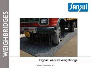 Digital and Electronics Weighbridge / Truck scales- Sansui Electronics