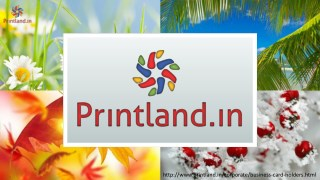 Buy Business Card Holders with Name Printed Online in India