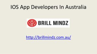 Best IOS app development company in australia