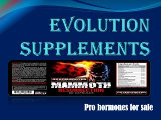 Pro Hormones for Sale