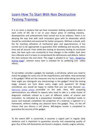 Ppt Non Destructive Testing Powerpoint Presentation Id1145972