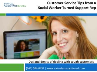 Customer Service Tips from a Social Worker Turned Support Rep
