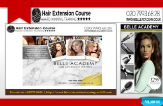 Hair Extension Training By Belle Academy
