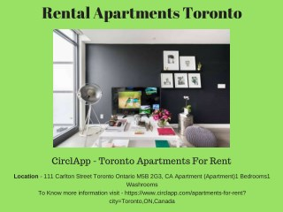 Best Rental Apartments Toronto Canada - CIRCLAPP