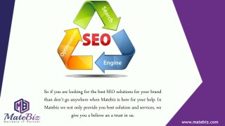 Get One of The Best SEO Company in India