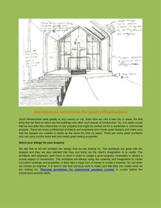 Planning permission for commercial premises London