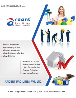 Housekeeping Services, Manpower, Payroll Outsourcing Services in Ahmedabad