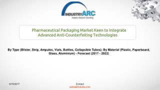 Pharmaceutical Packaging Market Expects Transition to Eco-Friendly Materials to Eliminate Raw Material Problems