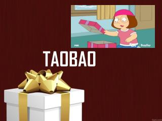 Gift Beautiful Products to Your Loved Ones by Taobao Shopping