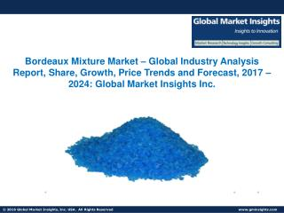 Bordeaux Mixture Market share forecast to witness considerable growth from 2017 to 2024