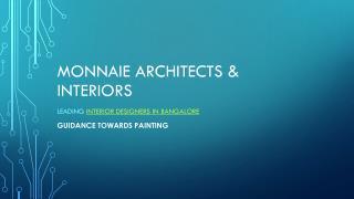 Guidance towards painting – Interior Designers in Basavanagudi