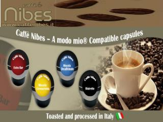 coffee capsules compatible