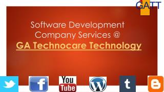 Software Development Company in Noida - GA Technocare Technology