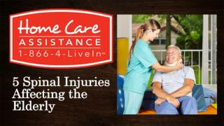 5 Spinal Injuries Affecting the Elderly