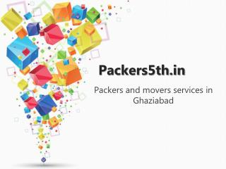 Packers5th.in packers and Movers in Ghaziabad
