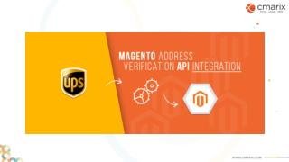 Magento Address Verification API Integration