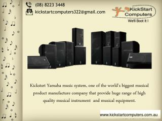 Many Features In One Yamaha Music System