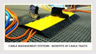Benefits of Cable Management System
