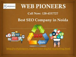 Best SEO Company in Noida,Delhi | Web Pioneers