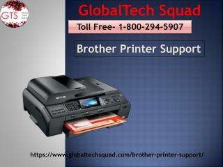 Brother Printer Support |Toll Free 1-800-294-5907