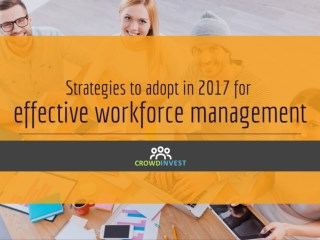 Strategies for effective workforce management