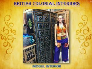 British Colonial Interiors