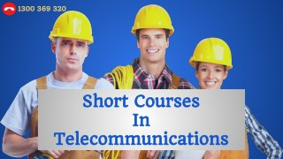 Telecommunications Short Courses - Telecommunications Courses
