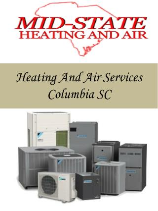 Heating And Air Services Columbia SC