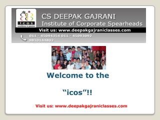 CS Coaching in Delhi