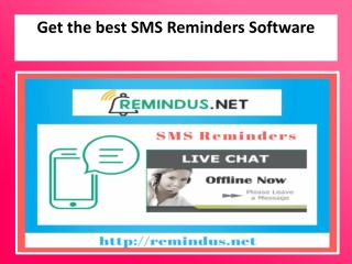 Best SMS Reminders Software