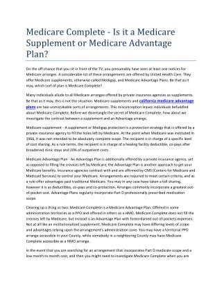 california medicare enrollment