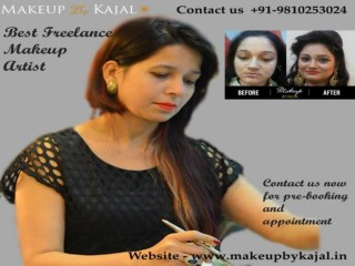 Leading Freelance Makeup Artist in Delhi NCR