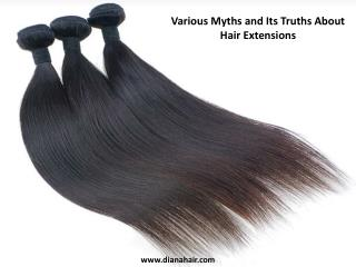 Various Myths and Its Truths About Hair Extensions
