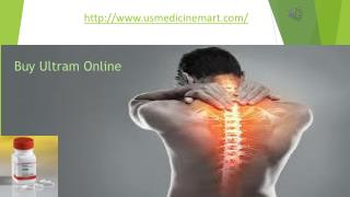Say Bye to Joint Pain, Back Pain, Body Ache, Surgical Pain with Ultram(Tramadol) 250mg Tablets