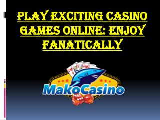 casino live table games