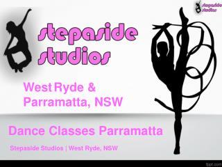 Dance Classes Parramatta and West Ryde | Stepaside Studios