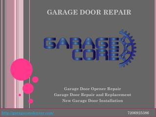 Garage Door Opener Repair and New Garage Door Installation in Denver