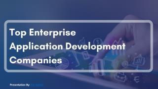Top Enterprise Application Development Companies 2017