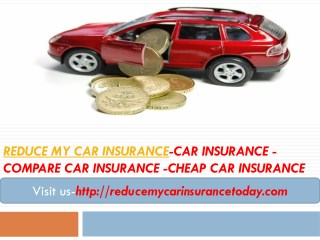 reduce my car insurance-car insurance -Compare Car Insurance -Cheap car insurance