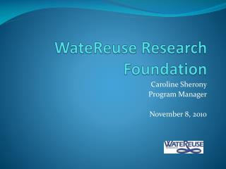 WateReuse Research Foundation