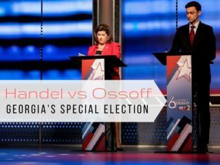 Handel vs Ossoff: Georgia's special election