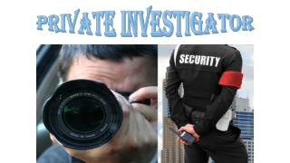 Private Investigator Services Singapore