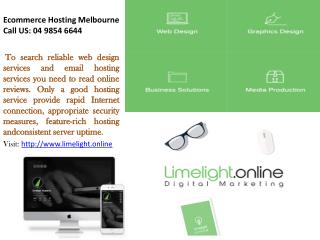 Cloud Hosting Melbourne, Ecommerce Hosting Melbourne