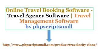Travel Agency Software | Travel Management Software