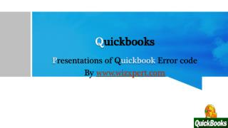Quickbooks Error Code -6189
