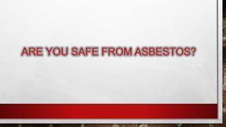 asbestos testing ballarat